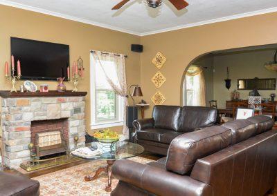 Living Room   The Cottage at La Bella Casa