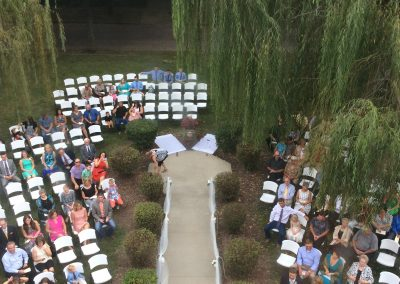 Overhead of Seating Area | Outdoor Event
