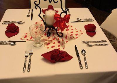 Valentines Table Decor | Valentines Event