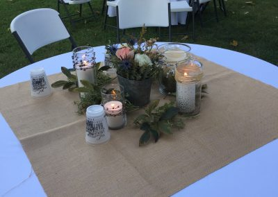 Table Decor | Outdoor Event