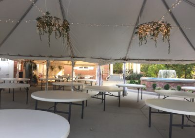 Tented Banquet Area | Outdoor Event