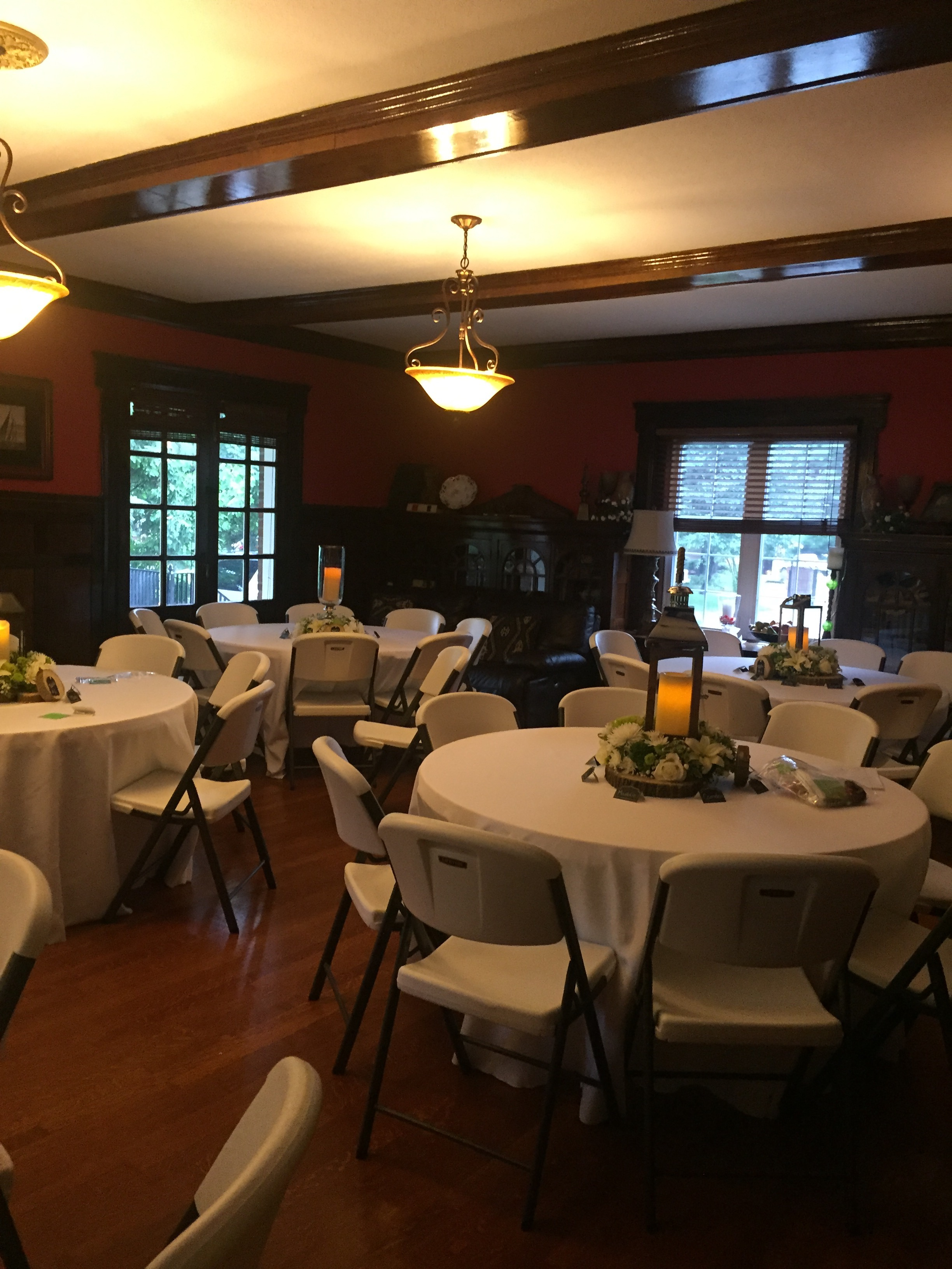 Banquet Seating on First Floor | Indoor Event