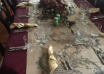 Close up of Table Decor | Indoor Event