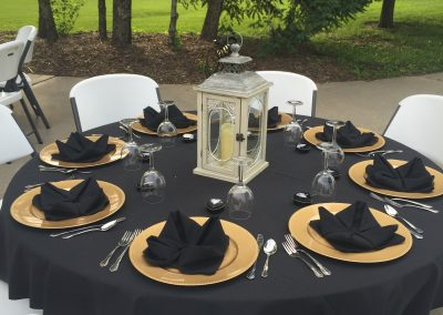 Banquet Seating | Outdoor Event